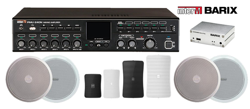 StoreStreams commercial audio systems